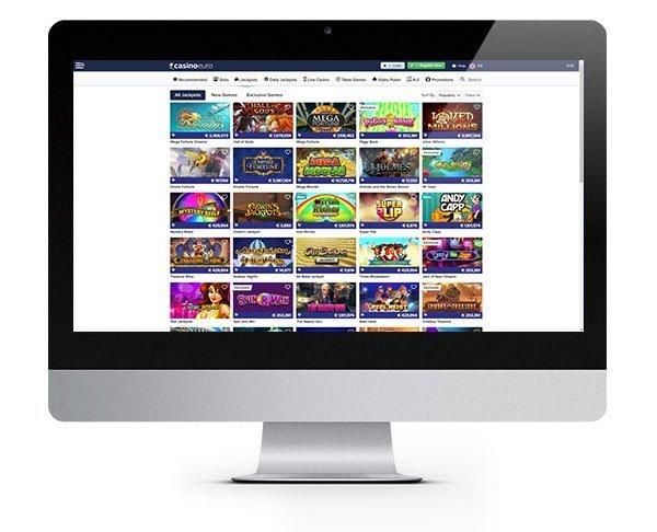 Casino Euro 100% Match Bonus