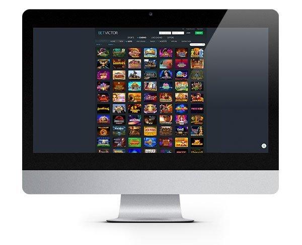 BetVictor Casino desktop
