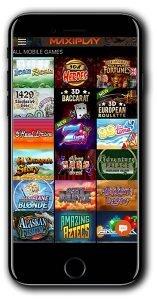 MaxiPlay Casino mobile