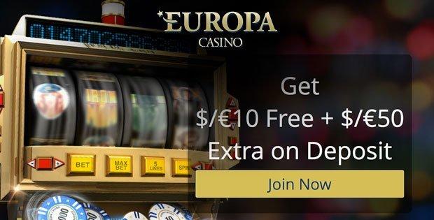 Europa casino mobile no deposit bonus cds easy street slot machine
