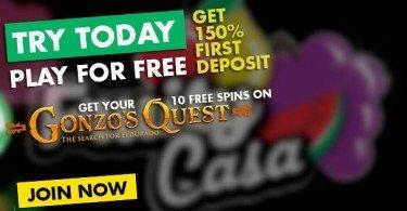 fruity casa free spins bonus