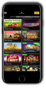 Casino Luck Mobile 100% Match Bonus Spins