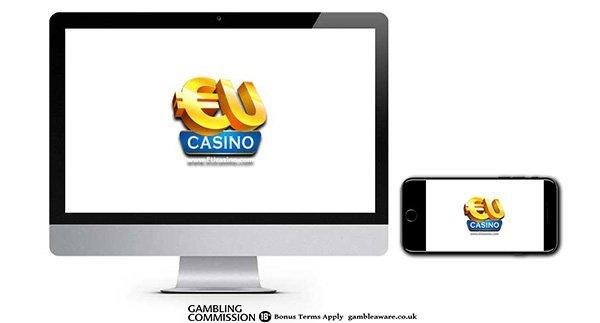 EU Casino 100% Match Mega Spins