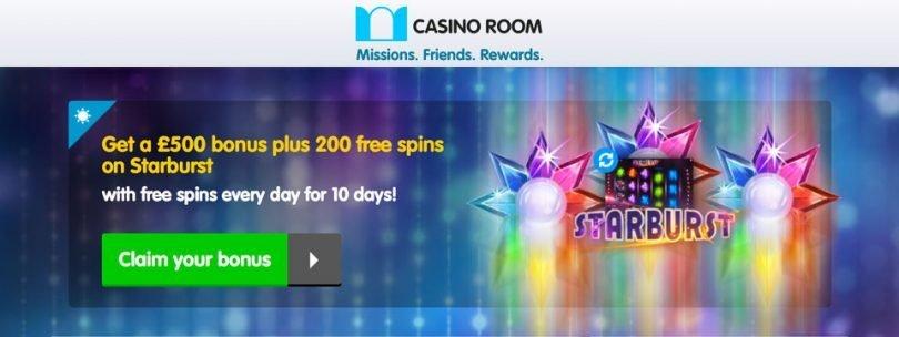 Casino room no deposit spins