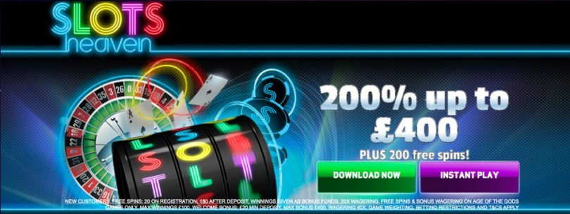 slots heaven free spins