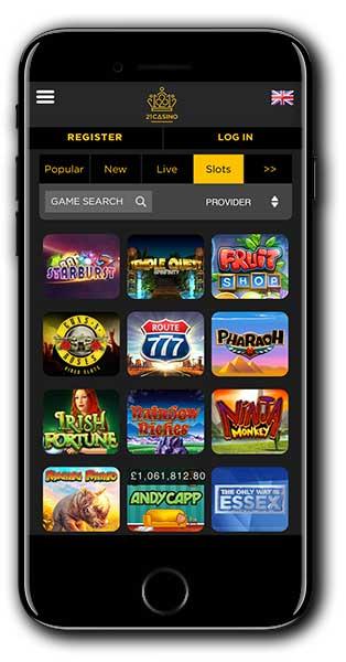 21 Casino Bonus Spins Match