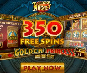 lucky nugget free spins