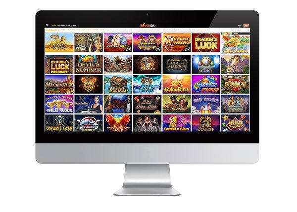 Wild Slots desktop screenshot