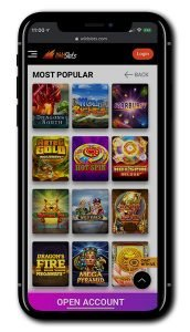 Wild Slots mobile screenshot