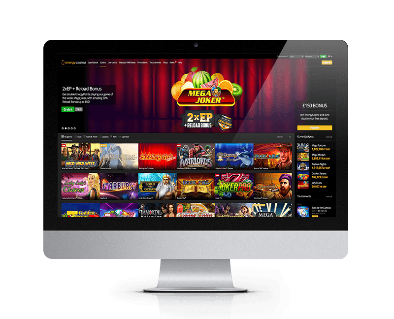 Energy Casino New Player Welcome Bonus
