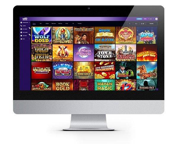 Wild Jackpots Casino desktop