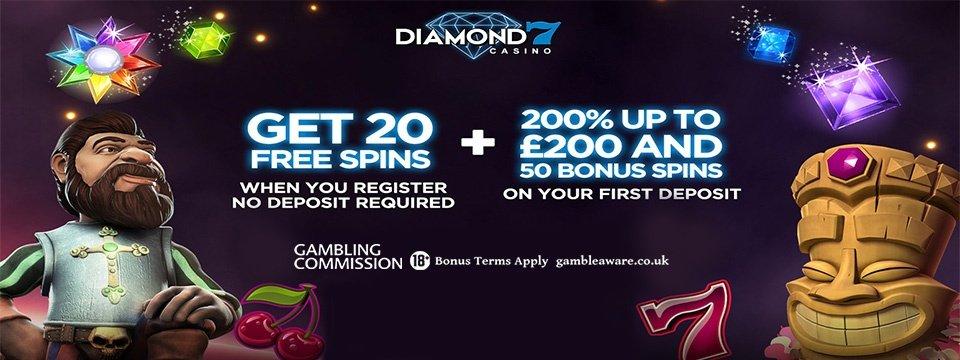 diamond 7 casino no deposit free spins