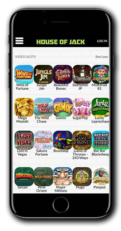 House of Jack Casino ZERO WAGER Free Spins