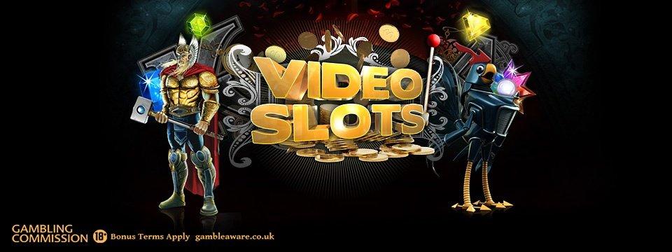 Videoslots Casino: 11 Welcome Spins + 100% Bonus