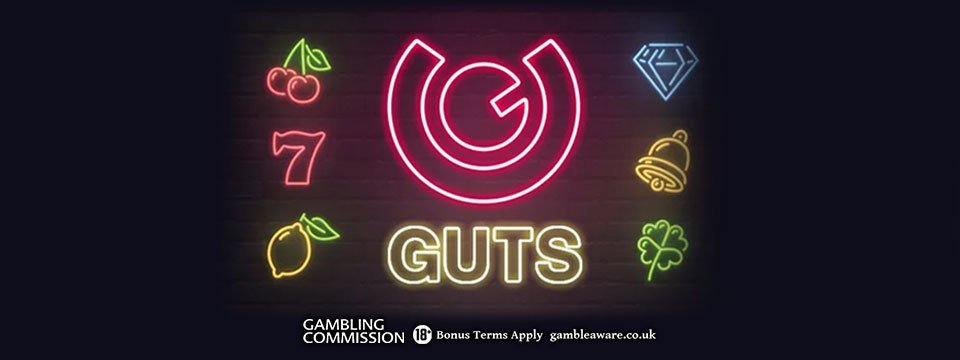 Guts Casino: 100% Deposit Match + 50 Spins for new players!