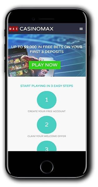 casino max match bonus