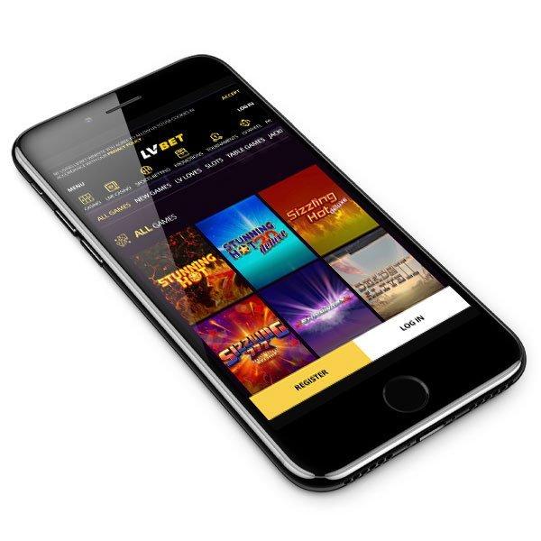 LVbet Casino mobile