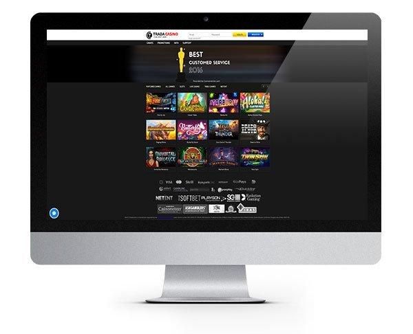 trada casino 50 free spins code