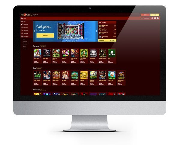 Box24 Casino desktop