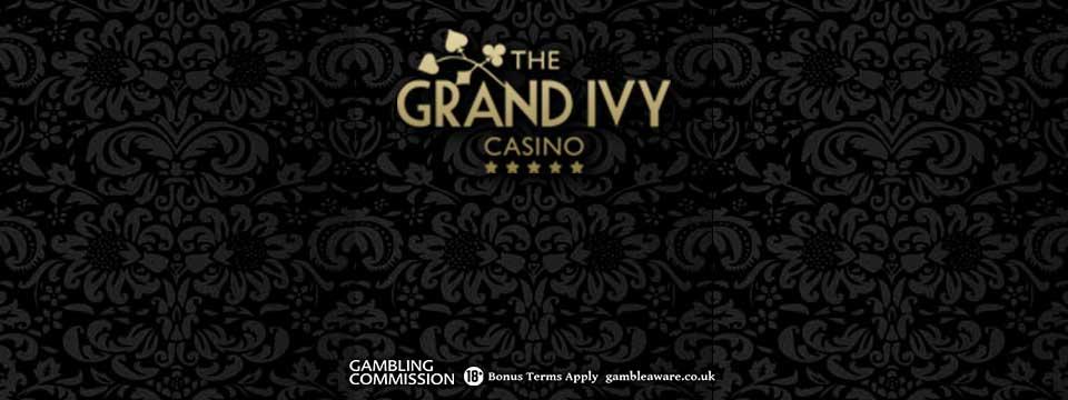 The Grand Ivy Casino: NEW Match Bonuses and 100 Bonus Spins!