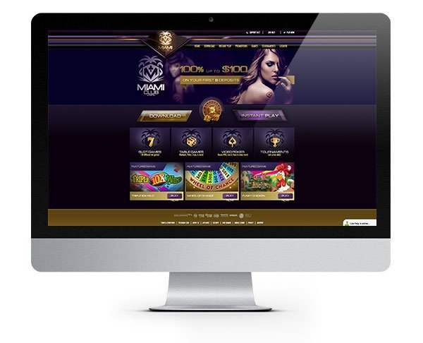 Miami Club Casino Welcome Bonus