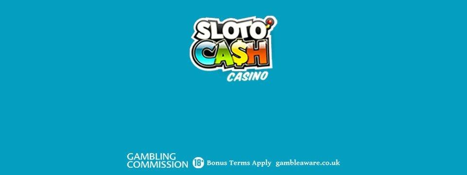 Sloto'Cash Casino: 200% PLUS 300 Bonus Spins