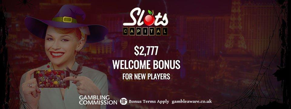 Slots Capital Casino: 277% Match Bonus