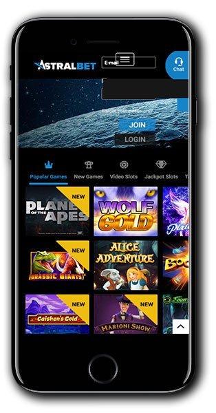 AstralBet Casino Free Spins Bonus