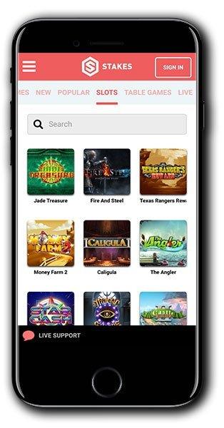 Stakes Casino Bonus Spins