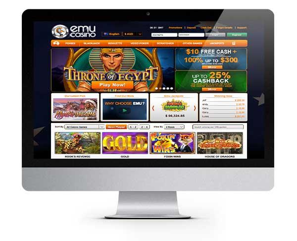 Emu Casino 12 No Deposit Free Spins Bonus