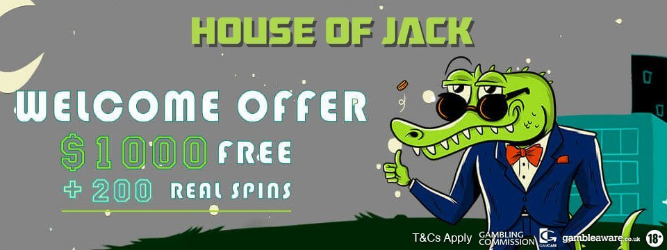 House Of Jack Casino 200 Wager Free Spins Free Spins No