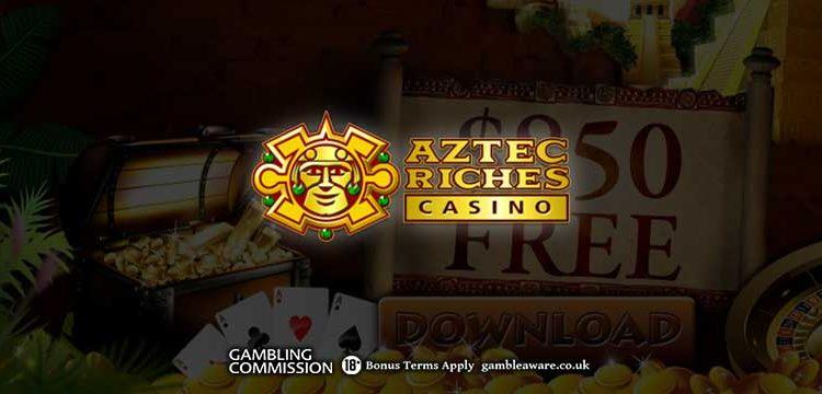 Aztec Riches 960x360
