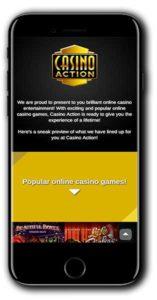 Casino Action NEW Casino Welcome Bonus