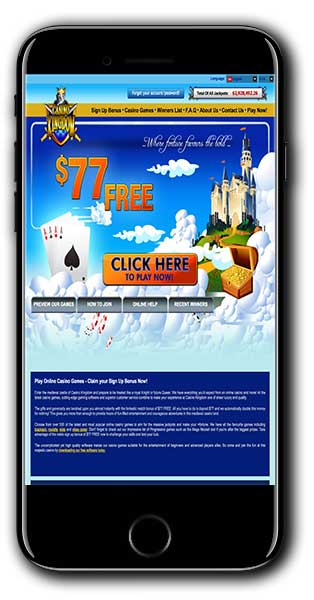 Casino Kingdom New Player Bonus