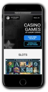 Luxury Casino Casino Bonus