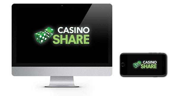 Casino Share New Player Bonus