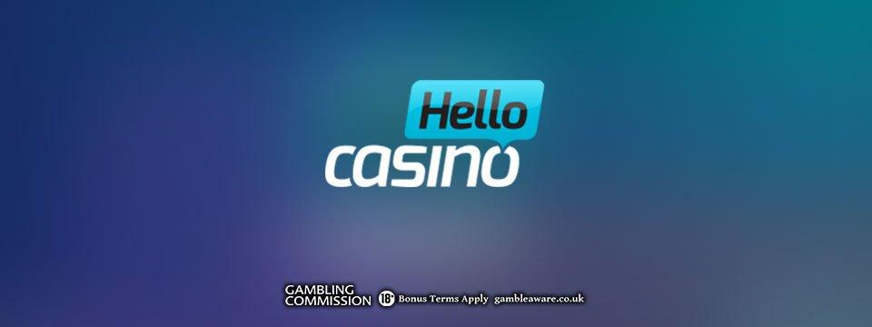 Hello Casino: 10 No Deposit Spins Bonus + 50 Extra Spins!