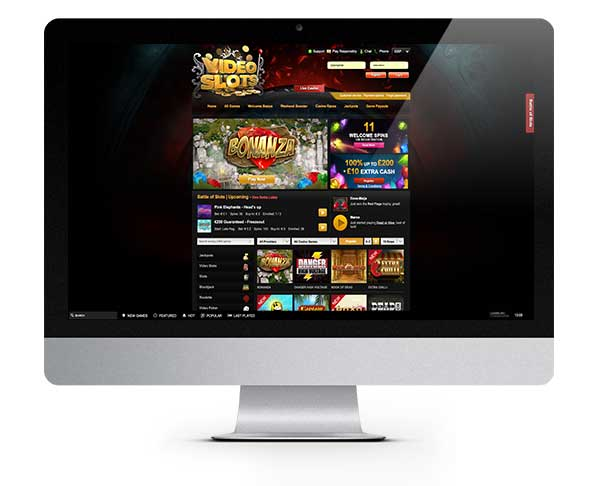 Videoslots Casino Welcome Spins Match