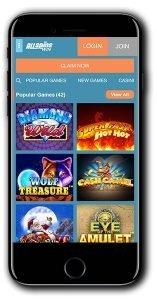 All Spins Win Casino Match Bonus