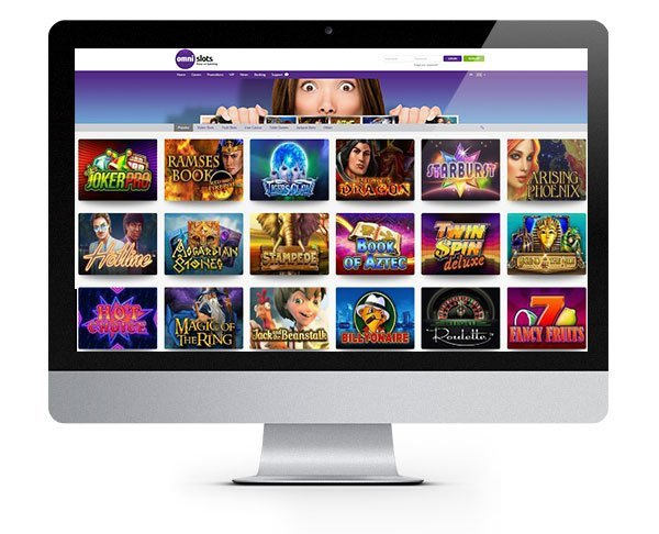 Omni Slots Casino 100% Match Bonus Spins