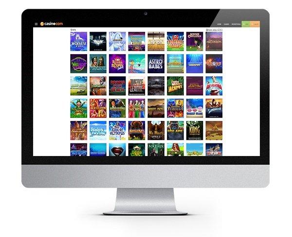 Casino.com desktop