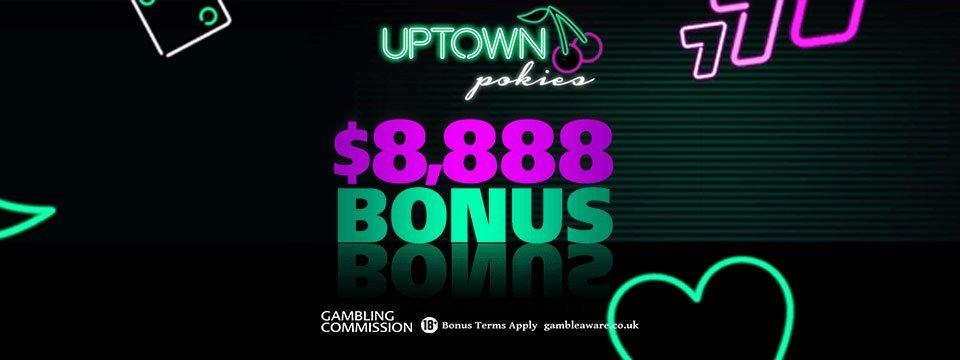 Uptown Pokies Casino: 250% Match Bonus up to $2500!