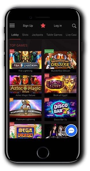 Kasino BitStarz Moible