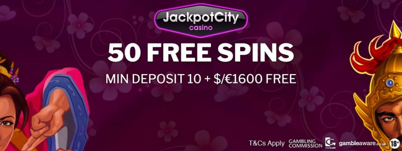 jackpot city 50 free spins