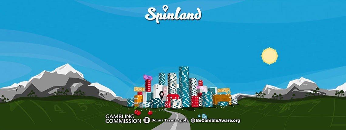Spinland Casino: Up to 200 Bonus Spins on first THREE deposits!