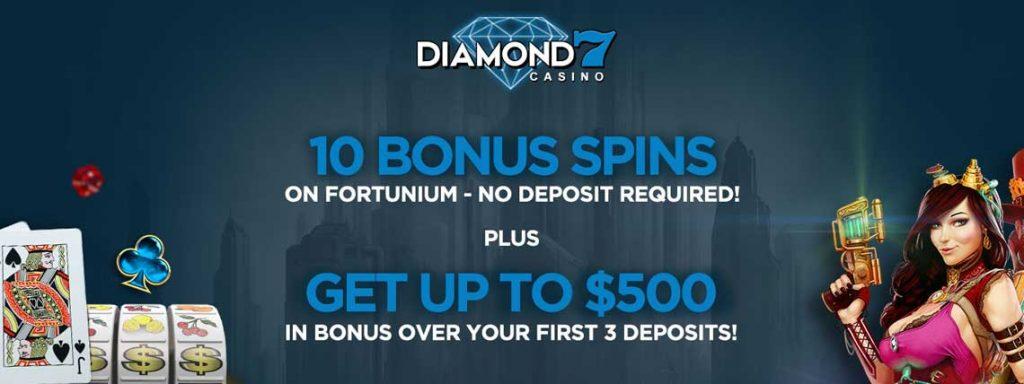 diamond 7 no deposit