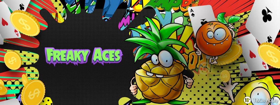 Freaky Aces Casino: 20 Free Spins No Deposit Required!