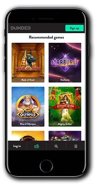 Dunder Casino Bonus Spins