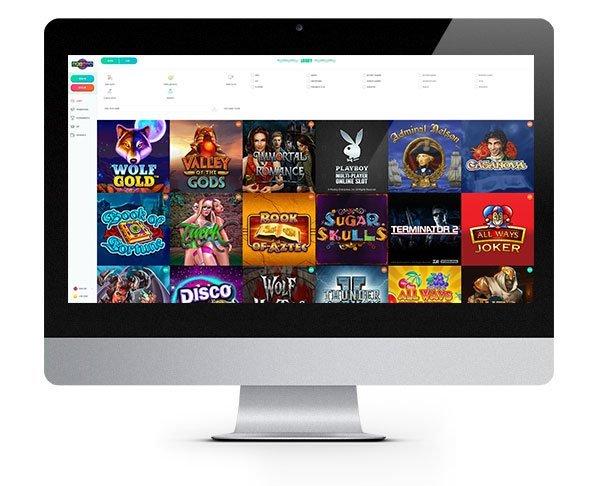 NEW Spinia Casino desktop