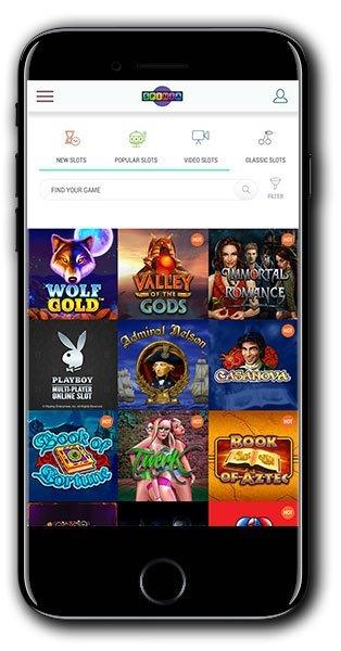 NEW Spinia Casino mobile